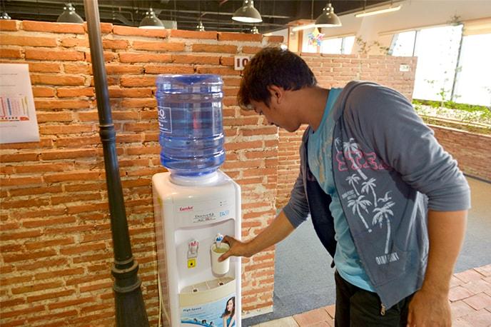 Bebedouros para você se manter hidratado