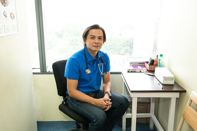Consultorio médico onde você pode se consultar 2 vezes por semana