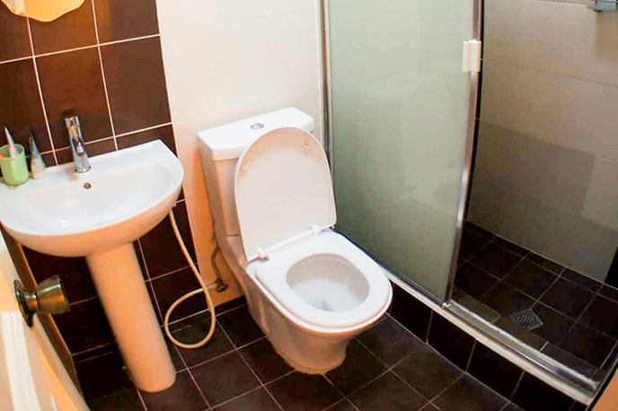Toilet compartilhado